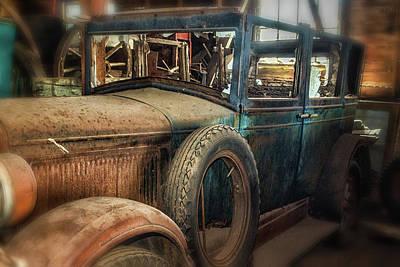 Deconstructed Photograph - Broken Past by Marnie Patchett