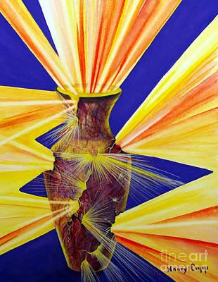 Painting - Broken Vessel by Nancy Cupp