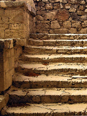 Minotaur Photograph - Bronze Age Stairs by Jean Hall