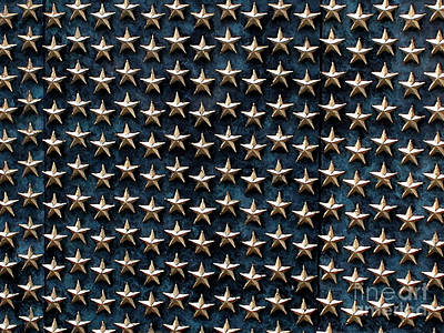 Bronze Stars Print by Steve Grisham