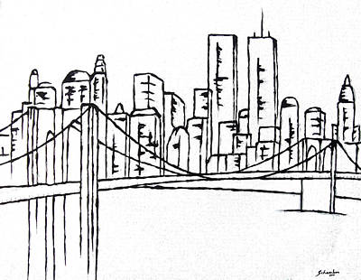 Brooklyn Bridge Original by Amanda Schambon