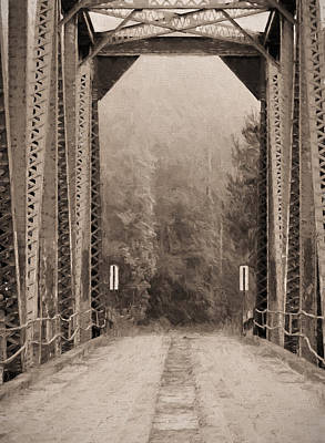 Old Country Roads Photograph - Brooklyn Bridge by JC Findley