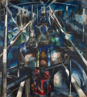 Brooklyn Bridge Painting - Brooklyn Bridge  by Mountain Dreams