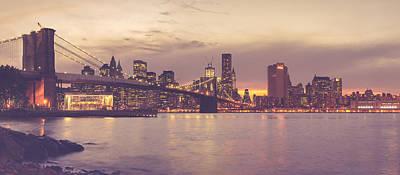 Photograph - Brooklyn Bridge - New York City by Thomas Richter