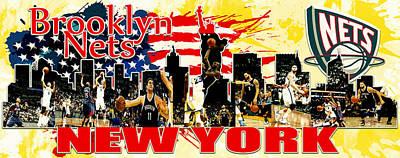 Brooklyn Nets Original by Don Kuing