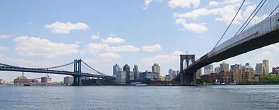Harlem Digital Art - Brooklyn New York From Manhattan by Bill Cannon