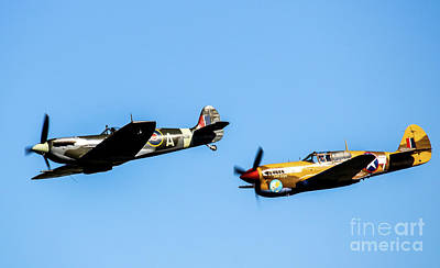 Ww11 Aircraft Photograph - Brothers In Arms by Graeme Parker