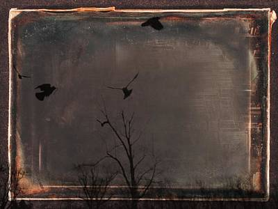 Brown Earth Print by Gothicolors Donna Snyder