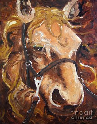 Painting - Brown Eye by Joseph Palotas
