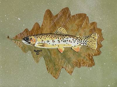 Brown Trout Original by Ralph Root