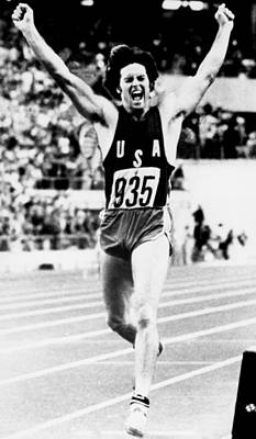 Bruce Jenner Photograph - Bruce Jenner Competing At The 1976 by Everett