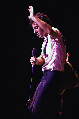 Bruce Springsteen Photograph - Bruce Springsteen 1980 by Chris Walter