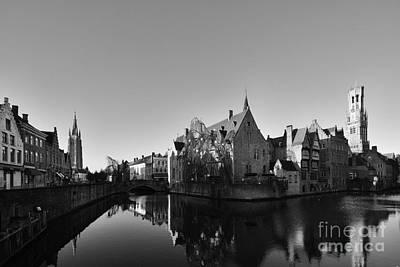 Bruges Print by Nichola Denny