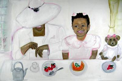 Brunch Print by Michela Akers