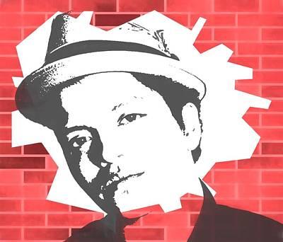 Bruno Mars Graffiti Tribute Print by Dan Sproul