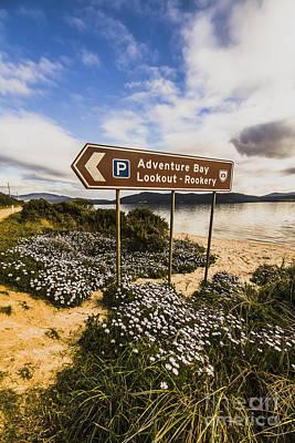 Destiny Photograph - Bruny Island Landmarks by Jorgo Photography - Wall Art Gallery