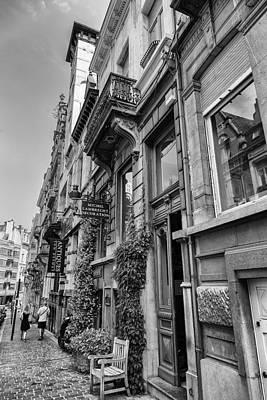 Bruxelles Photograph - Brussels Urban Scene by Georgia Fowler