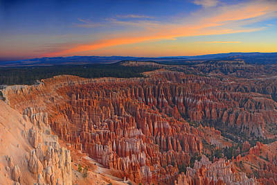 Photograph - Bryce Canyon National Park Sunrise by Raymond Salani III