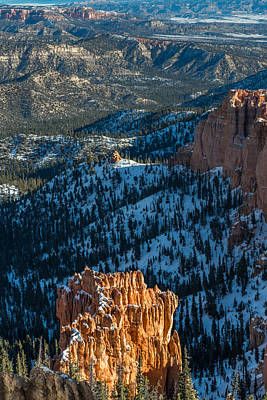 Bryce Canyon National Park Photograph - Bryce Canyon Overlook by Joseph Smith