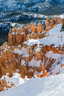 Bryce Canyon National Park Photograph - Bryce Winter by Joseph Smith