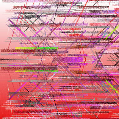 Horizontal Digital Art - Bs.1.14 by Gareth Lewis