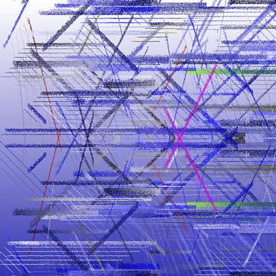 Horizontal Digital Art - Bs.1.17 by Gareth Lewis