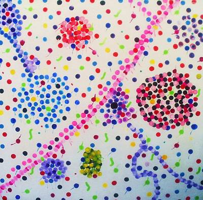 Etc Drawing - Bubble Gum by HollyWood Creation By linda zanini