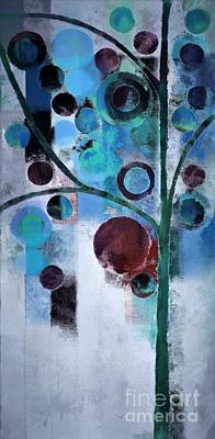 Dyptich Painting - Bubble Tree - 055058167-86a7b2 by Variance Collections