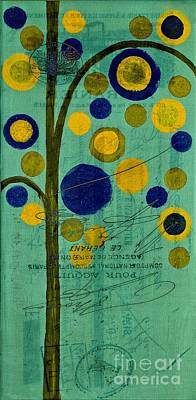 Variation Painting - Bubble Tree - 42r1r by Variance Collections
