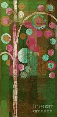 Dyptich Painting - Bubble Tree - 85rc16-j678888 by Variance Collections