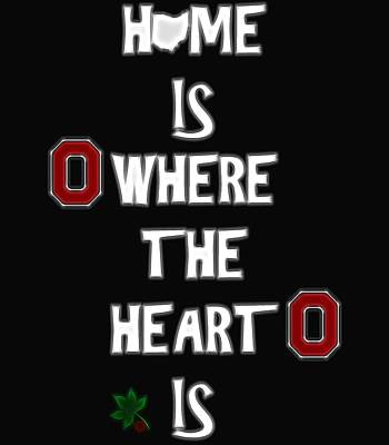 Buckeye For Life Print by Dan Sproul