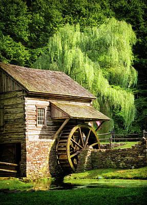 Solebury Photograph - Bucks County Mill by Carolyn Derstine