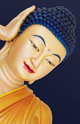 Buddha 2 Print by Mark Ashkenazi