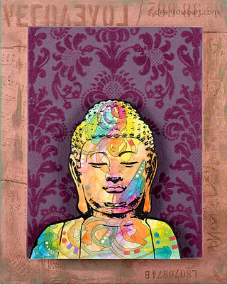 Painting - Buddha Love by Dean Russo
