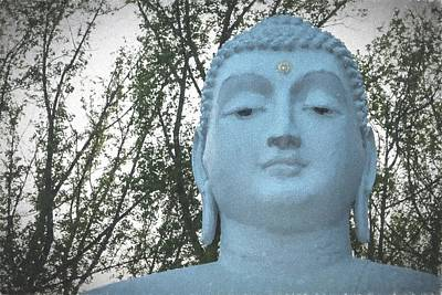 Statue Portrait Digital Art - Buddha Nature by Terry DeLuco