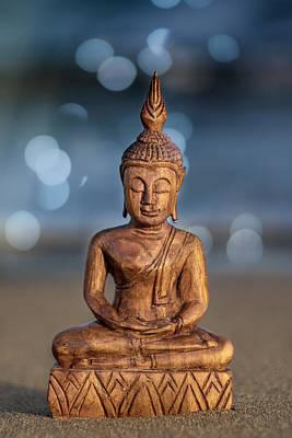 Peaceful Symbols Photograph - Buddha  by Stelios Kleanthous