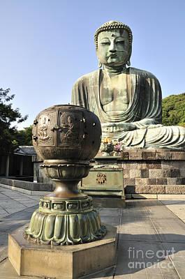 Buddha Photograph - Buddha With Urn by Andy Smy