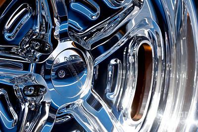 Budnik Wheel 02 Print by Rick Piper Photography