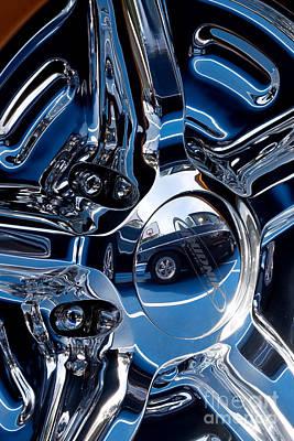 Budnik Wheel 03 Print by Rick Piper Photography