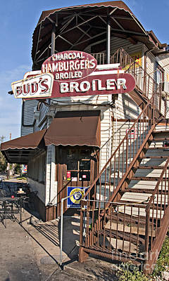 Bud's Broiler New Orleans Print by Kathleen K Parker