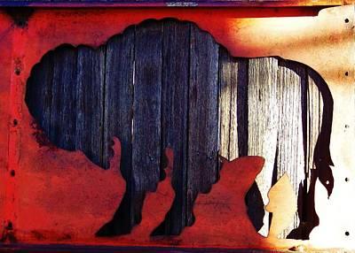 Buffalo 3  Original by Larry Campbell