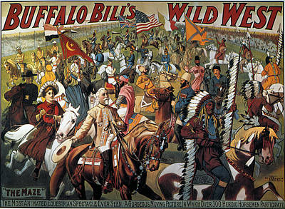 Buffalo Bill: Poster, 1908 Print by Granger