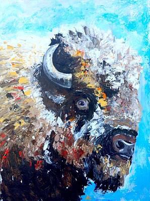 Buffalo Boy Original by Alana Clumeck