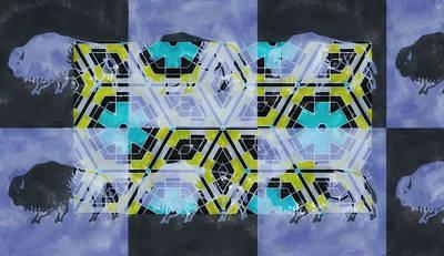 Sweden Digital Art - Buffalolike by Toppart Sweden