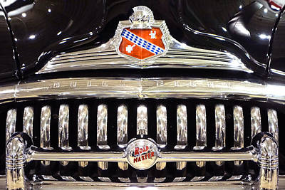 Buick Road Master Grill Print by Mike McGlothlen