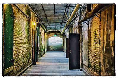 Alcatraz Photograph - Building 64 Interior #2 - Alcatraz Island by Jennifer Rondinelli Reilly