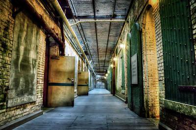 Alcatraz Photograph - Building 64 Interior - Alcatraz Island by Jennifer Rondinelli Reilly