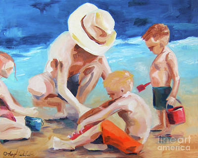 Painting - Building Dreams by Joseph Palotas