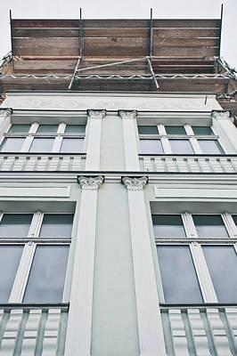 Building Repairs Print by Tom Gowanlock