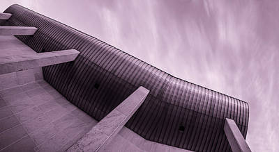 Buildings In The Sci-fi Sensation Panorama Print by Toppart Sweden